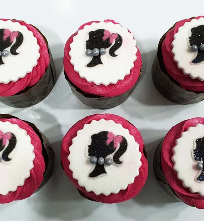 catering and events - cupcakes barbie